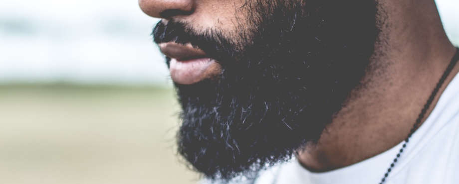 black man full beard