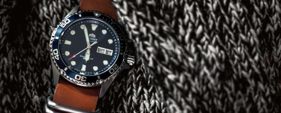 watch brown strap